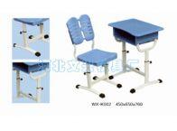WX-K002学生课桌椅